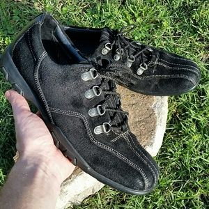 Cole Haan Black Lace Up Hiking shoes - 9M